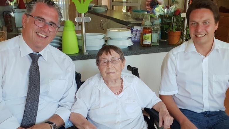 102. Geburtstag von Ilse Müller