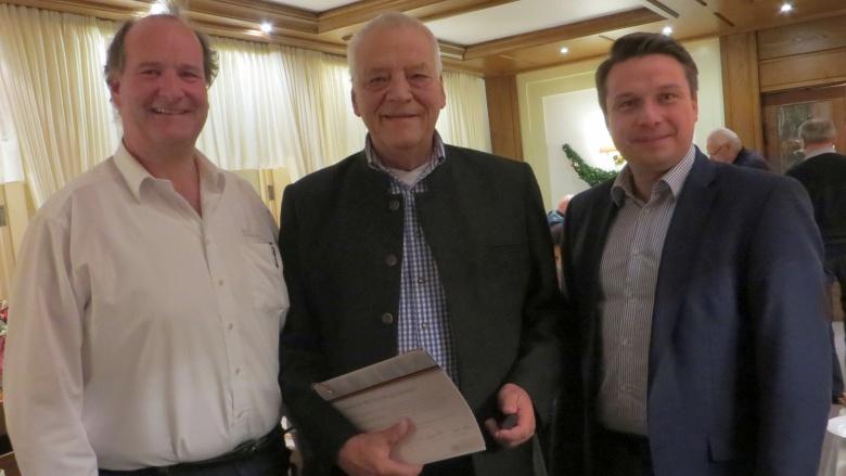 Marco Gass, Jürgen Teschke und Manuel Hailfinger