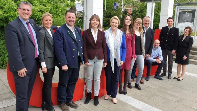 Die Delegierten und Gäste des Kreisverbandes Reutlingen beim Landesparteitag