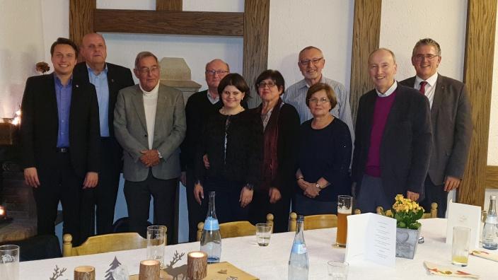Neu gewählter Vorstand Arbeitskreis Christ und Politik