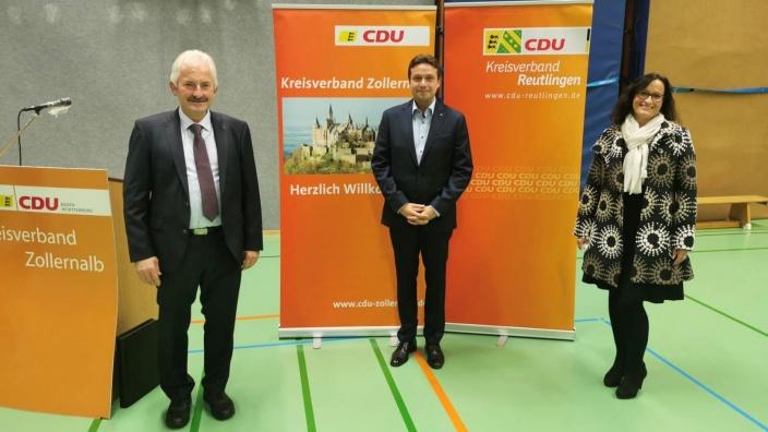v.l. Gebhard Aierstock, Manuel Hailfinger und Ann-Cathrin Müller