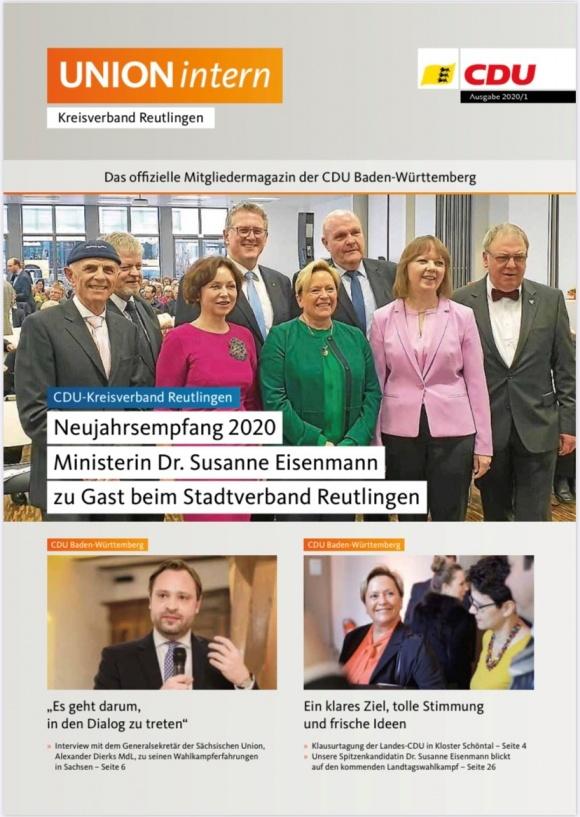 UNIONintern - Ausgabe 1 / 2020