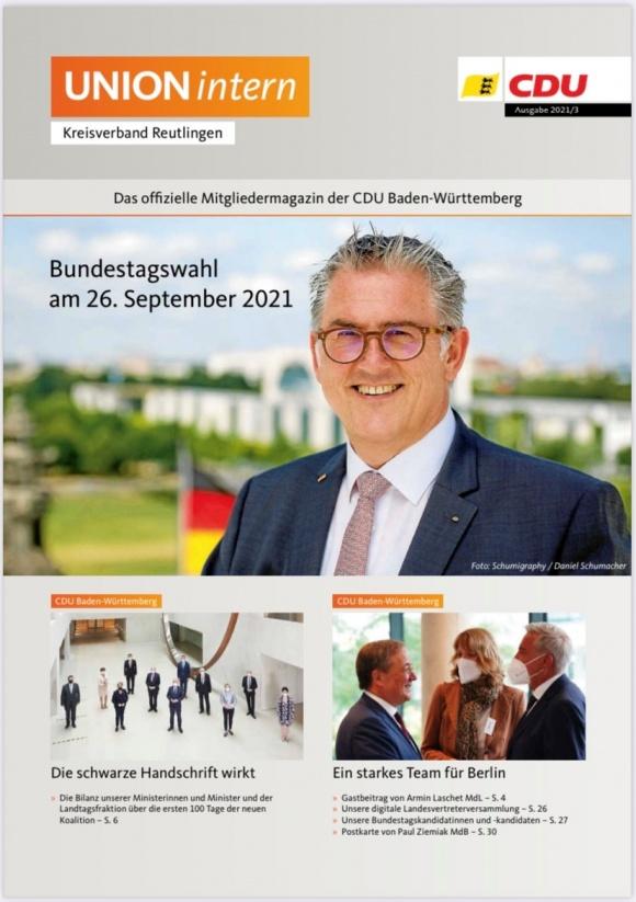UNIONintern - Ausgabe 3 / 2021